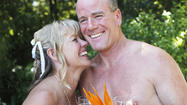 Couple Gets Married in the Nude