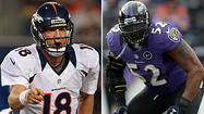 Peyton Manning and Ray Lewis prepare for final matchup with plenty on the line