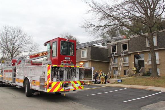 Columbia Landing apartment fire