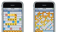 Words With Friends on iPhone