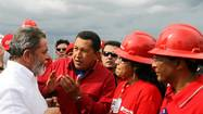 Chavez's oil rich nation