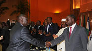 JOHANNESBURG – Opposition forces in the Central African Republic who took control of a large swath of the country in recent weeks have succeeded in forcing President Francois Bozize's government to share power, officials said Friday.