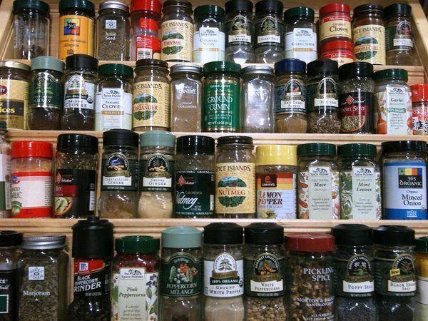 Store your spices in a cool, dry place, and date them after opening.