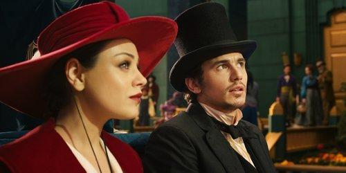 "Mila Kunis and James Franco in ""Oz, the Great and Powerful."""