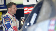 Dale Earnhardt Jr. started a 12-car accident at Daytona International Speedway that essentially shut down a three-day test session.