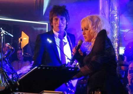 "The new unscripted series ""Cyndi Lauper: Still So Unusual,"" at 9 and 9:30 p.m. on WE, follows the pop star as she prepares for her new Broadway musical. With Ron Wood."