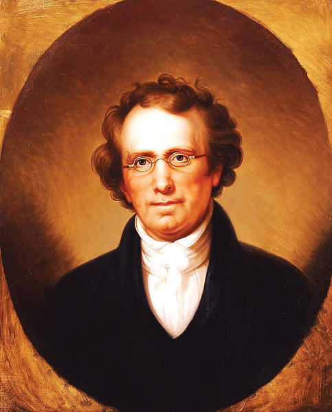 Rembrandt Peale (American, 1778-1860), is the artist who painted Portrait of Henry Robinson, ca. 1816.