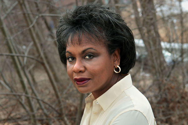"Anita Hill looks back on the 1991 Senate Judiciary Committee hearings and her allegations against Supreme Court nominee Clarence Thomas in the new doc ""Anita."""