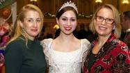 "The Women's Board of The Joffrey Ballet hosted its 25th annual ""Nutcracker"" Family Dinner on Dec. 15 at the Palmer House Hilton. The Grand and State ballrooms were enchantingly transformed by Kehoe Designs to resemble the Land of Sweets from Robert Joffrey's production of ""The Nutcracker,"" which guests had the option of visiting before or after dinner at the Auditorium Theatre."