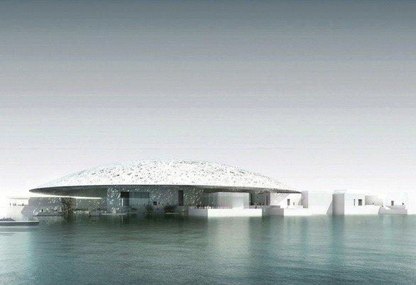 A rendering of the Louvre Abu Dhabi, a museum designed by French architect Jean Nouvel that's expected to be finished in 2015.