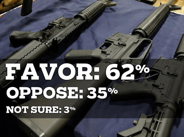 Would you favor or oppose banning the sale of assault weapons in Maryland? <br><i>(SOURCE: OpinionWorks survey)</i>