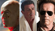 '80s heroes reload: Schwarzenegger, Stallone and Willis take aim at new villains
