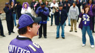 Ravens rally at Patriot Plaza [Pictures]