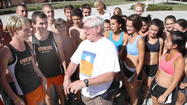 Oviedo cross country and track coach Tom Hammontree<strong>, </strong>68, underwent successful heart transplant surgery Thursday night at Florida Hospital-Orlando, according to his wife, Jane Hammontree.