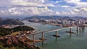 Travel Brazil by bus for a calm and cheerful trip