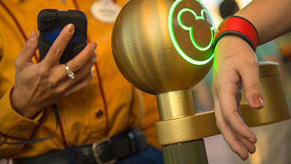 MagicBands are expected to roll out this spring as part of the new MyMagic+ vacation management system at Walt Disney World.