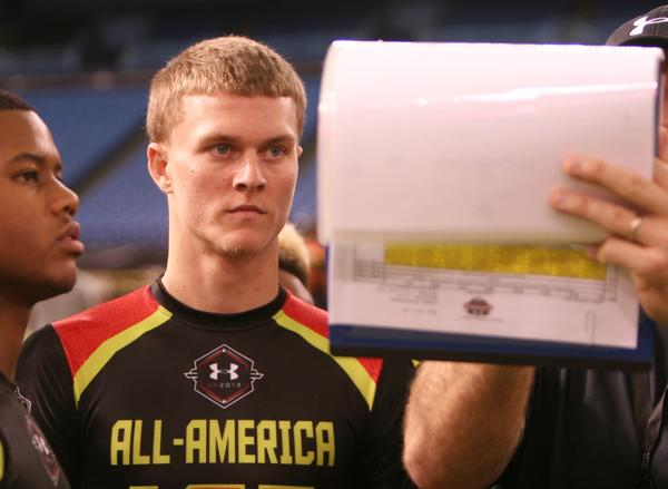 Chase Litton of Tampa Wharton is the No. 19-ranked pro-style quarterback in the 247Sports 2014 national rankings.