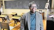 The Rev. Gertie T. Williams feels very much at home when she volunteers at the restored Ellicott City Colored School on Frederick Road.