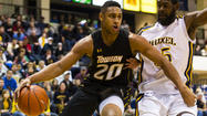 Towson faces Northeastern with first place in CAA on the line
