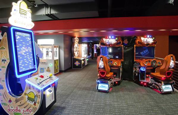 Revolutions entertainment center openined in Saucon Valley. The 40,000 square foot sports themed facility features a restaurant, several bars, a stadium sports theater, live music, DJs, a game room and lots of bowling lanes. The grand opening is scheduled for Jan. 24.
