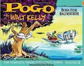 "Cover of ""Pogo: Bona Fide Balderdash"" by Walt Kelly"