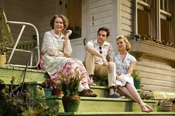 "Ellen Burstyn, left, Ben Rappaport and Maggie Grace star in ""Picnic."""