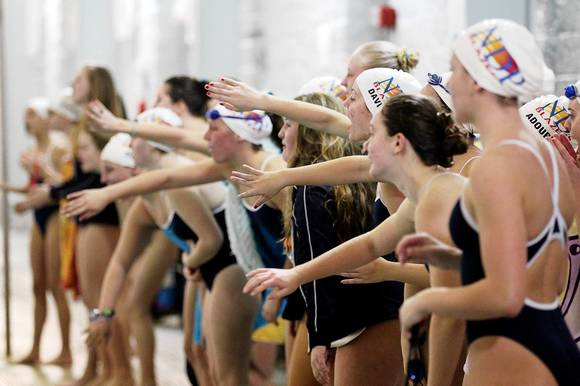 Notre Dame Prep vs. Owings Mills swimming