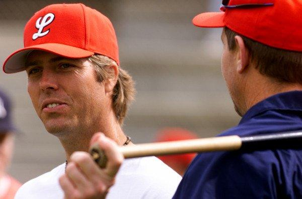 Former Angels pitcher Mark Langston helped coach at Orange Lutheran High after his playing days.