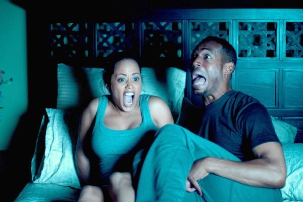 "Marlon Wayans and Essence Atkins star in ""A Haunted House."""
