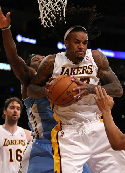Jordan Hill has suffered a season-ending injury to his hip and will not return for the Lakers.