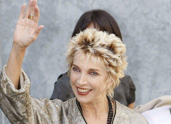 """Italian actress Mariangela Melato in 2008; she had success in a series of Lina Wertmuller-directed films in the 1970s that included """"The Seduction of Mimi"""" and """"Love and Anarchy."""""""