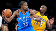 <strong>Thunder 116 - Lakers 101 (end of regulation)</strong>