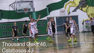 Thousand Oaks High rallies to beat Calabasas, 46-43