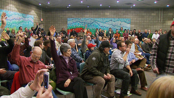 Kincaid Snowmachine Proposal Draws Hundreds