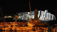 GIGLIO, Italy (Reuters) - Survivors of the Costa Concordia disaster and relatives of the 32 people who died returned to the Italian island of Giglio on Sunday to mark one year since the luxury cruise liner capsized.