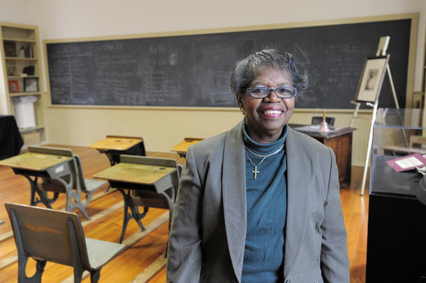 Rev. Gertie T. Williams, 76 and a retired pastor, will give the opening prayer at a Martin Luther King Jr. Day celebration at the Ellicott City Colored School on Jan. 21.