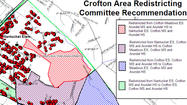 Crofton-area school redistricting advances without provision for new school