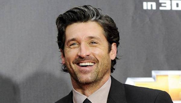 Actor Patrick Dempsey comes out on top in Tully's fight.