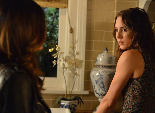 'Pretty Little Liars' Season 3B pictures: Episode 17, titled Out of the Frying Pan, Into the Inferno, airing Tuesday, Jan. 29.