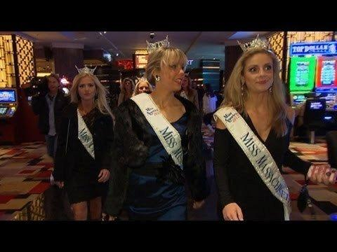 "ABC's ""Nightline"" helps promote the network's Miss America broadcast."