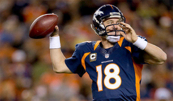 Broncos quarterback Peyton Manning led the NFL this season with a 68.6 completion percentage, was second with a 105.8 passer rating, third with 37 passing touchdowns and sixth with 4,659 passing yards..