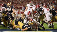 BCS photos: Alabama 42, Notre Dame 14