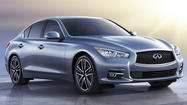 Infiniti used the Detroit Auto Show on Monday to launch a new Q50 sport sedan into an increasingly cutthroat segment that includes a redesigned Lexus also scheduled to debut this week.