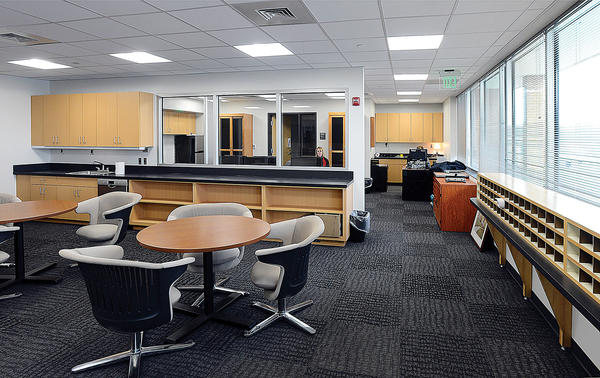 The Fletcher Faculty Development Center in the Behavioral Sciences & Humanities Building at Hagerstown Community College.