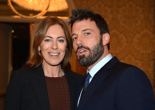 Directors Kathryn Bigelow and Ben Affleck at AFI Awards at the Four Seasons hotel.
