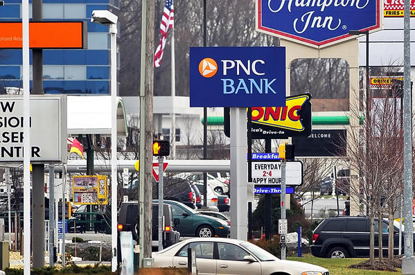 PNC Bank on Dual Highway in Hagerstown.