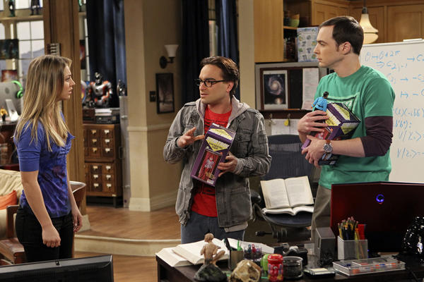 "A scene from ""Big Bang Theory."""