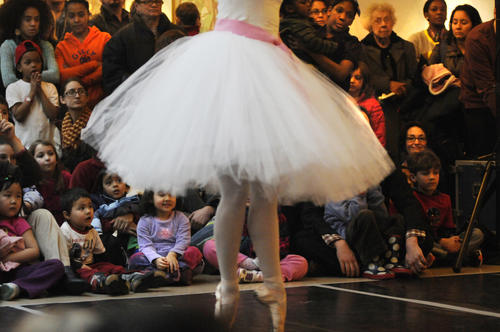 Connecticut Ballet at the Wadsworth Atheneum during the museum's Second Saturdays for Families Saturday.