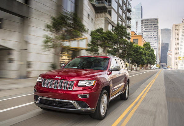 Jeep's 2014 Grand Cherokee lineup adds an optional diesel engine. All models will also come standard with an eight-speed automatic transmission.