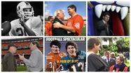 Bernie Kosar has no back teeth, and each gap has a name attached. Jets defensive tackle Joe Klecko once hit Kosar so hard it knocked out a molar. Lawrence Taylor knocked out another molar. Derrick Brooks, yet another.